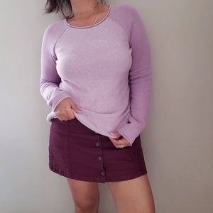 Eddie Bauer cotton knit crew neck sweater XS